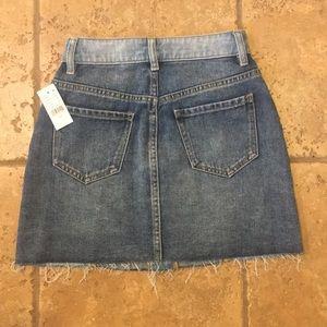 PacSun Skirts - PacSun button up denim skirt